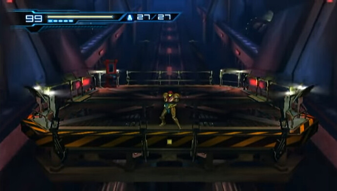 metroid other m materials transfer lift